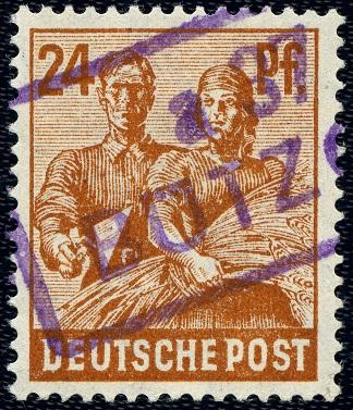 SBZ 174 VIII Bezirk 37 Bützow
