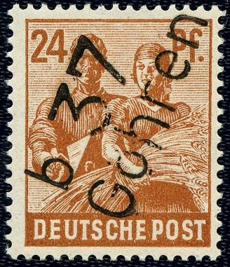 SBZ 174 VIII Bezirk 37 Göhren