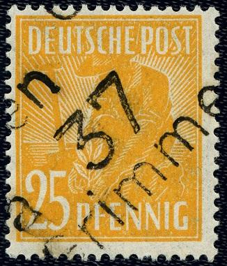 SBZ 175 VIII Bezirk 37 Grimmen